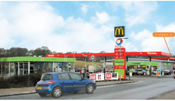 London Road Car Park Brighton >> Co-operative Convenience Store & Total Petrol Filling ...