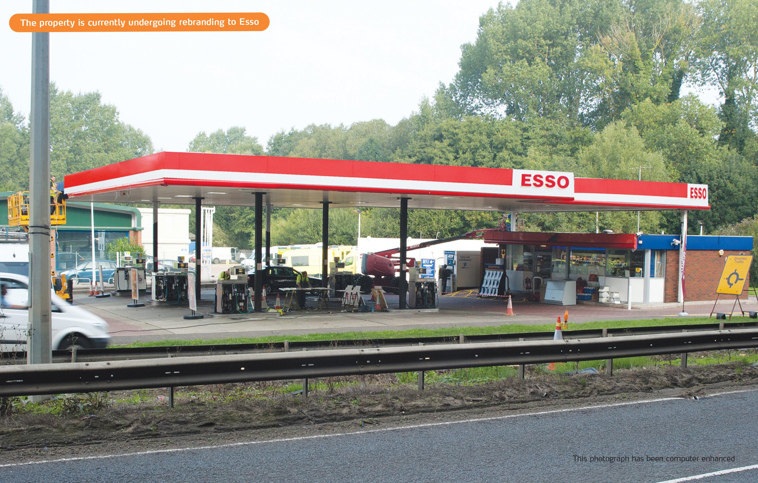 property auctions 17 oct 2013 petrol filling station on a11 fiveways barton mills bury st. Black Bedroom Furniture Sets. Home Design Ideas