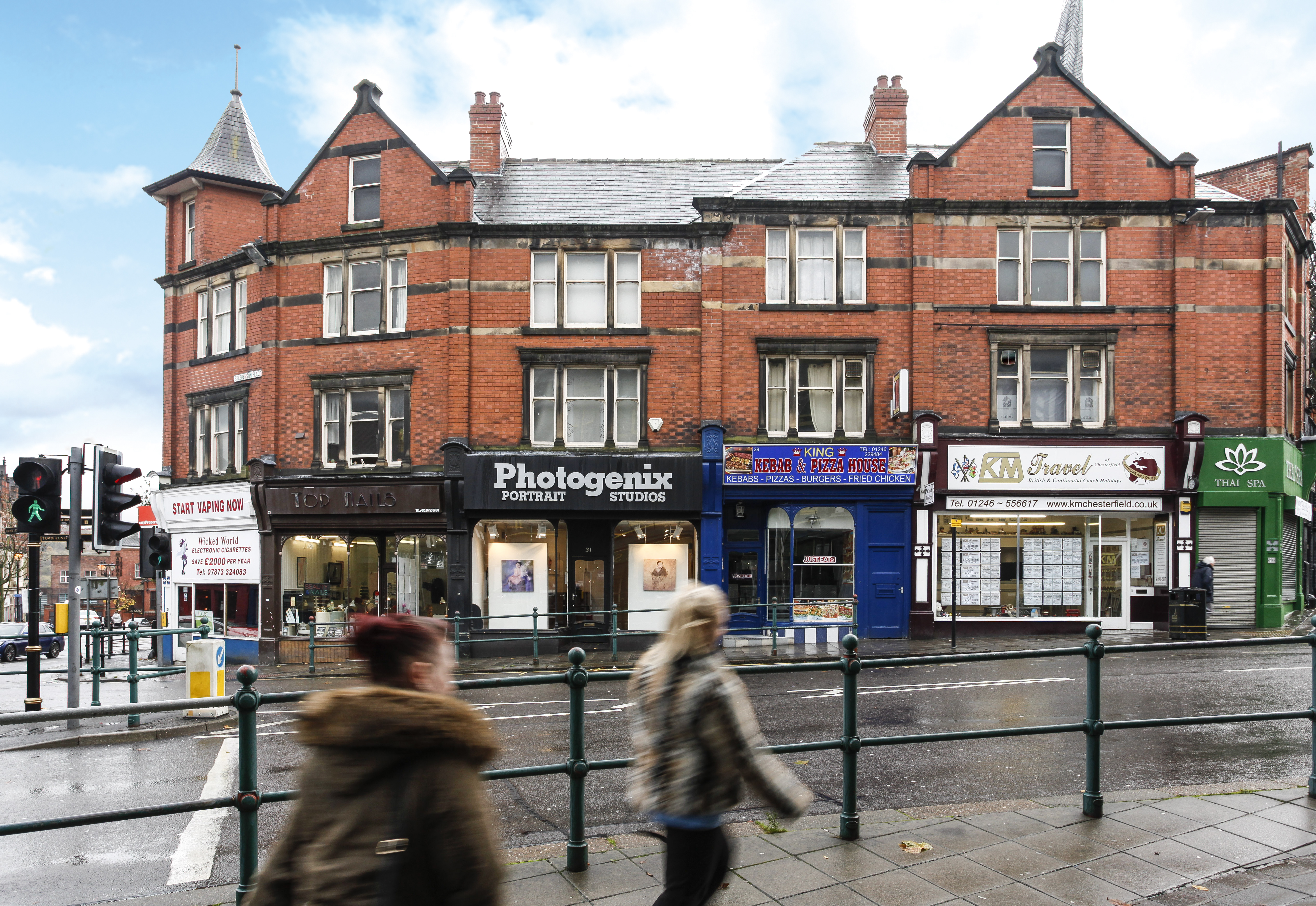 25 35 Stephenson Place Chesterfield Derbyshire S40 1xl