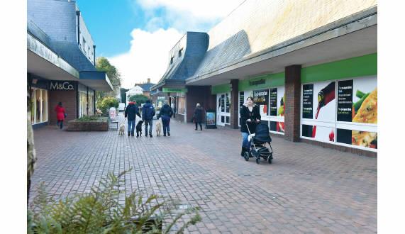 Wimborne Car Park Crown Mead