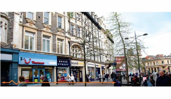 Westgate Buildings<br>Units 3 - 7B & 174 - 175 Commercial Street<br>Newport<br>Gwent<br>NP20 1GF