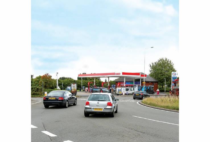 Esso Filling Station, Watling Street (A5)<br>Muckley Corner<br>Lichfield<br>WS14 0BH