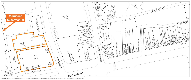 Mecca Bingo Garrick Parade Lord Street Southport Merseyside