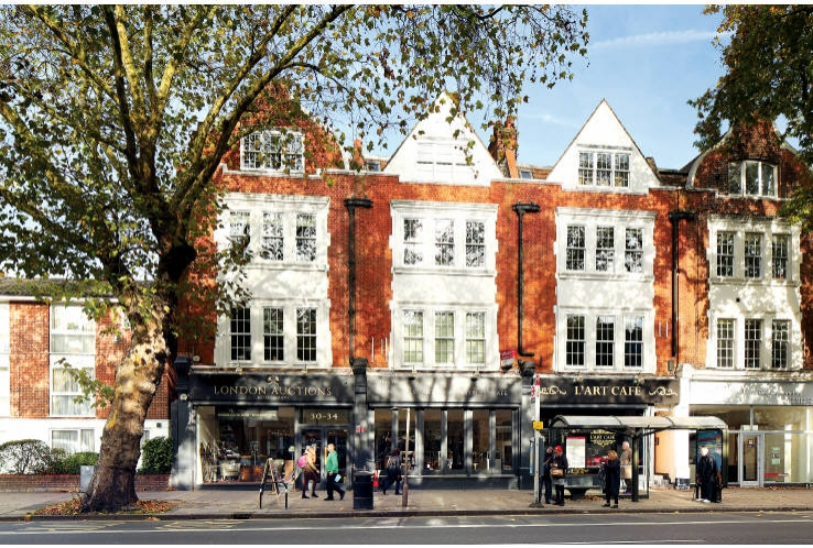 34 Chiswick High Road<br>Chiswick<br>London<br>W4 1TE