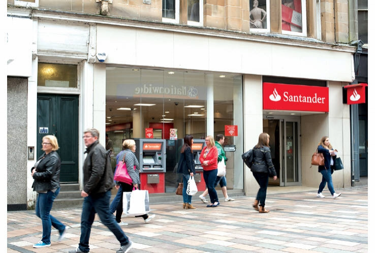 Santander<br>49 - 51 Port Street<br>Stirling<br>FK8 2EW