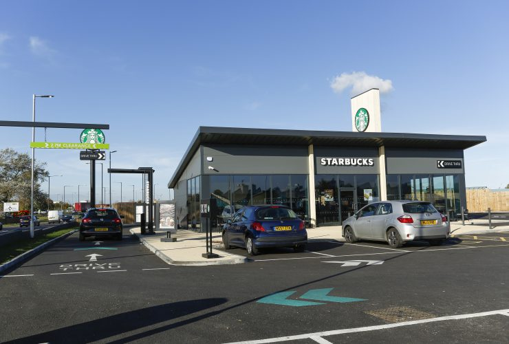 Starbucks Drive-Thru<br>Cargo Fleet Lane<br>Middlesbrough<br>TS3 8EJ