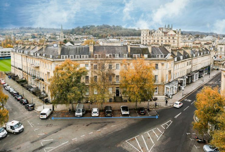 10, 11 and 12 Laura Place, Bath, BA2 4BL