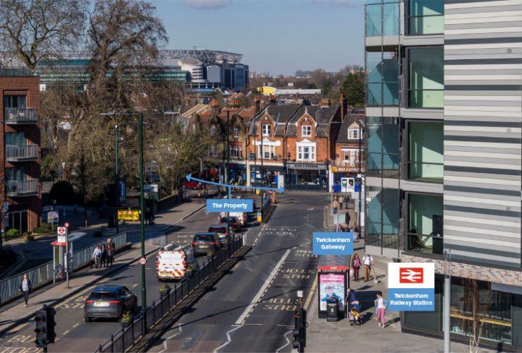 Tesco Express, 2-6 Whitton Road and 111 London Road, Twickenham, London, TW1 1BJ
