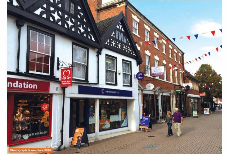 13 Market Street<br>Lichfield<br>Staffordshire<br>WS13 6JX
