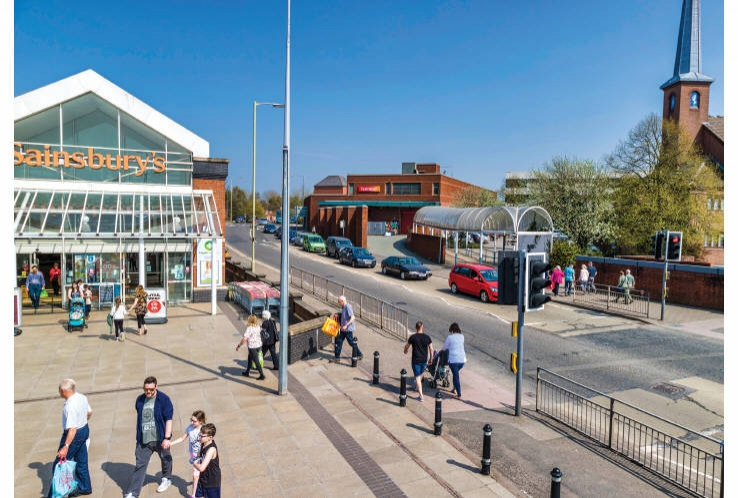 Hunters Row Shopping Centre<br>Stafford<br>Staffordshire<br>ST16 2AD