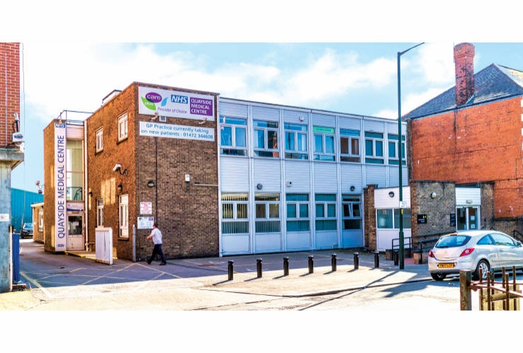 Quayside Medical Centre<br>76b Cleethorpe Road<br>Grimsby<br>Lincolnshire<br>DN31 3EH