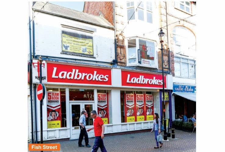36 Abington Street and 3 Fish Street<br>Northampton<br>Northamptonshire<br>NN1 2AA