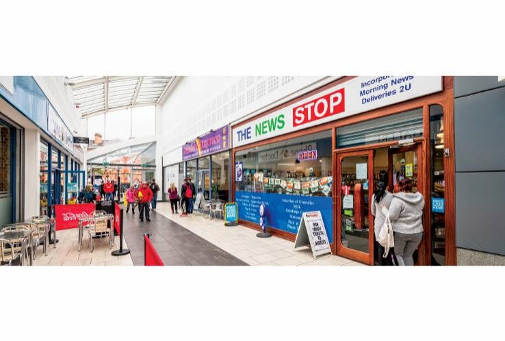 Lord Street Arcade<br>Lord Street / King Street<br>Wrexham<br>LL11 1LF