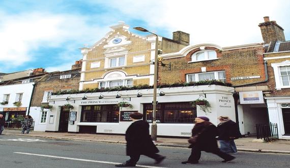 The Prince Albert Public House, 72 Royal Hill<br>London<br>SE10 8RT