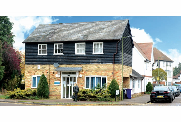 The Sollershot Doctors Surgery<br>44 Sollershott East<br>Letchworth Garden City<br>Hertfordshire<br>SG6 3JW