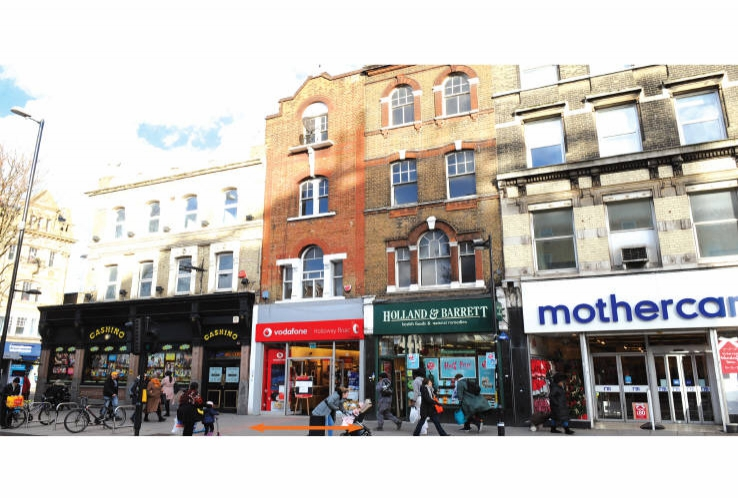 454 Holloway Road<br>Holloway<br>Islington<br>London<br>N7 6QA