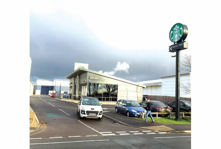 Starbucks Coffee<br>Burrfields Road<br>Portsmouth<br>Hampshire<br>PO3 5NP