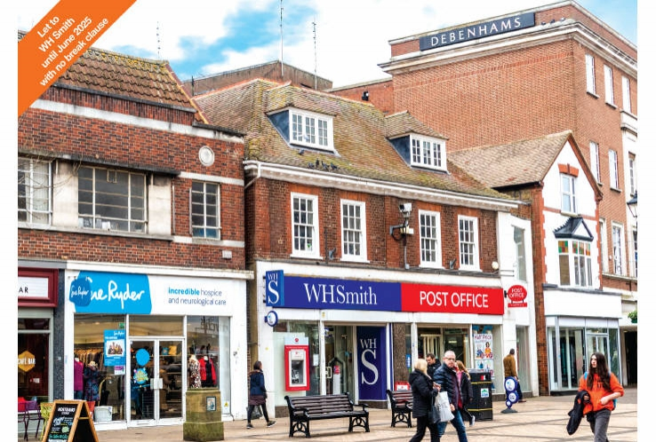 49 - 51 High Street and 1 - 5 Goodman Place<br>Staines upon Thames<br>Middlesex<br>TW18 4QR