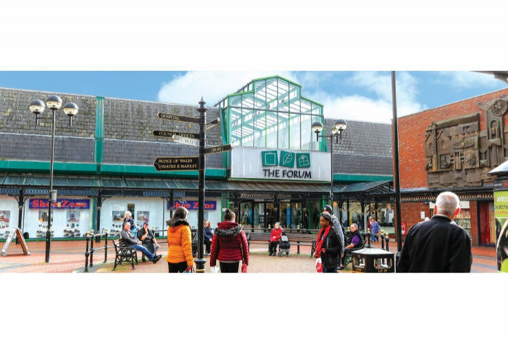 The Forum<br>Market Hall Street<br>Cannock<br>Staffordshire<br>WS11 1EB
