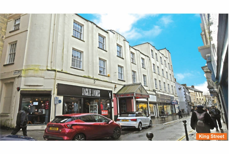 Lyric Buildings &<br>6 King Street<br>Carmarthen<br>Carmarthenshire<br>SA31 1BD