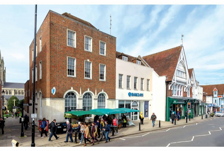 Barclays Bank & Development Opportunity<br>87 - 99 High Street<br>Dorking<br>Surrey<br>RH4 1AW