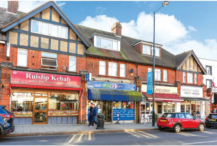 38 High Street<br>Ruislip<br>London<br>HA4 7AN