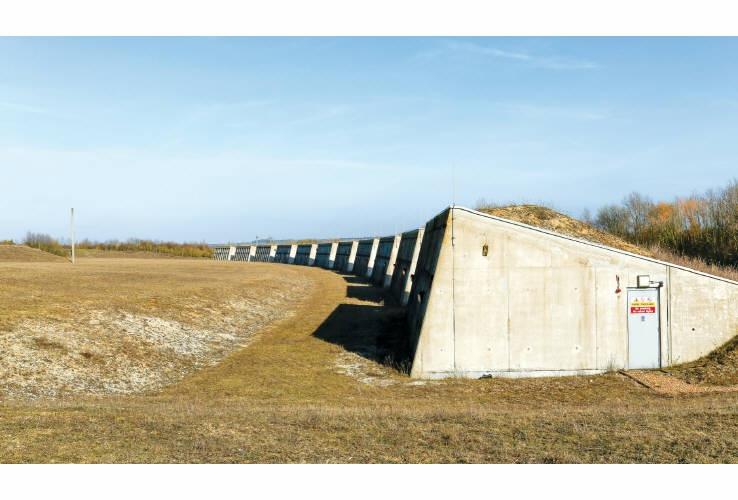 Imperial War Museum Storage Facility, Ickleton, near Duxford, Cambridgeshire, CB10 1TA