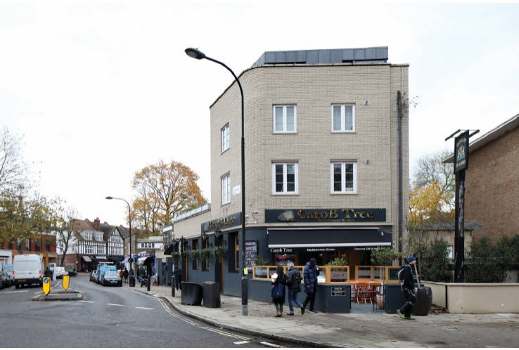 15 Highgate Road (Corner of Swain's Lane)<br>Highgate<br>London<br>NW5 1QX