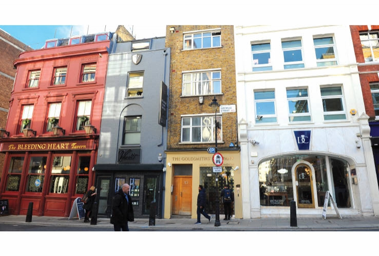 The Goldsmiths' Company Assay Office, 17 Greville Street<br>Hatton Garden<br>London<br>EC1N 8SQ