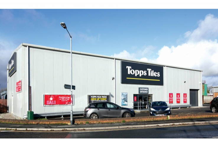 Topps Tiles<br>Avery Way, Tamar View Industrial Estate<br>Saltash<br>Cornwall<br>PL12 6LD
