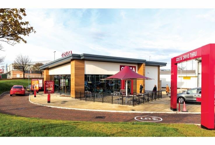 Costa Drive Thru<br>Vision Retail Park<br>Hartlepool<br>County Durham<br>TS24 0YA