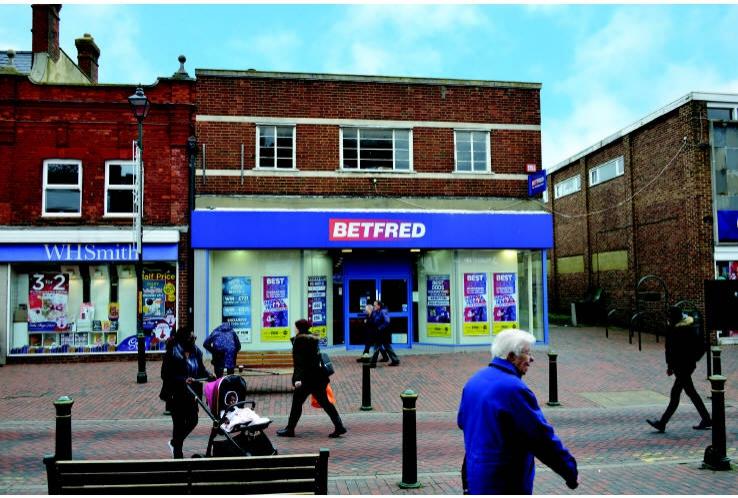 Betfred<br>82 - 84 High Street<br>Sittingbourne<br>Kent<br>ME10 4PH
