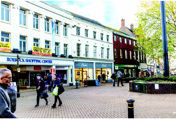 Units 5 - 6 Roebuck Centre<br>High Street<br>Newcastle-under-Lyme<br>ST5 1SW