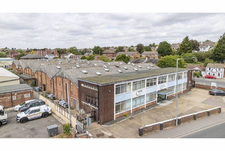 Former Gamet Bearings Facility<br>Hythe Station Road<br>Colchester<br>Essex<br>CO2 8LD