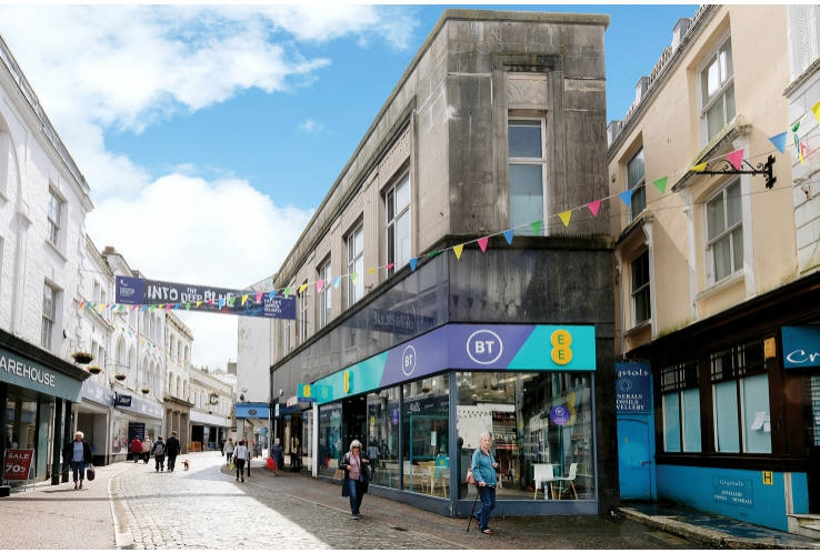 7 - 9 Market Street<br>Falmouth<br>Cornwall<br>TR11 3AE