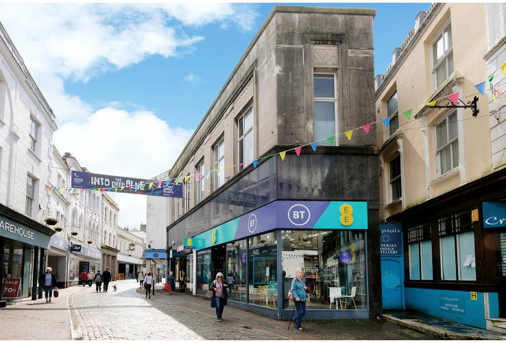 7 - 9 Market Street, Falmouth, Cornwall, TR11 3AE
