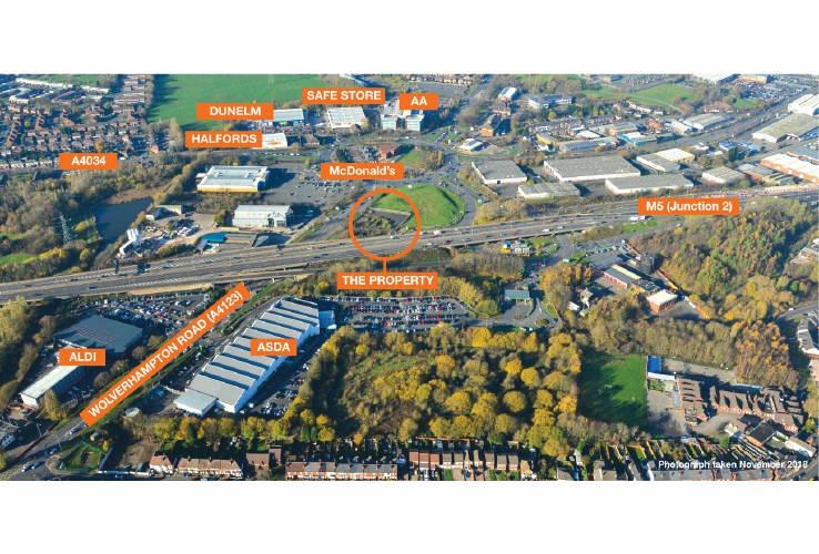 Land at Wolverhampton Road, Birchley Island, Oldbury, West Midlands, B69 2AG