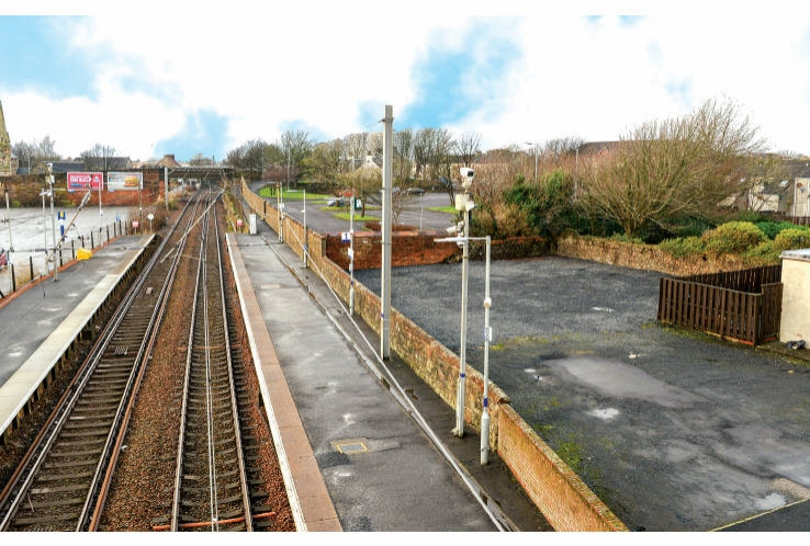 Part of land at Saltcoats Station<br>Saltcoats<br>KA21 5JX