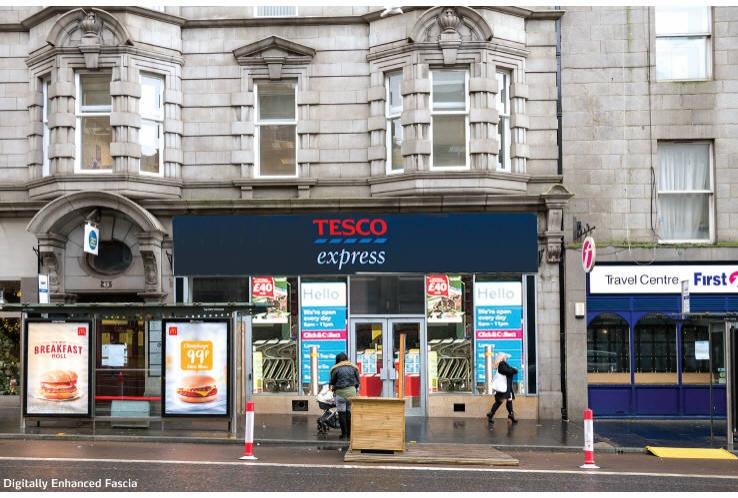 Tesco Express, 43-45 Union Street<br>Aberdeen<br>AB11 5BN