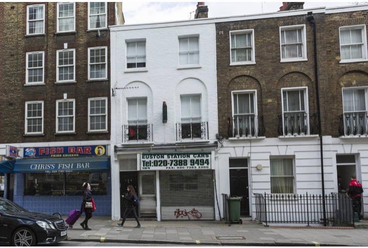 184 Eversholt Street<br>Kings Cross<br>London<br>NW1 1BL