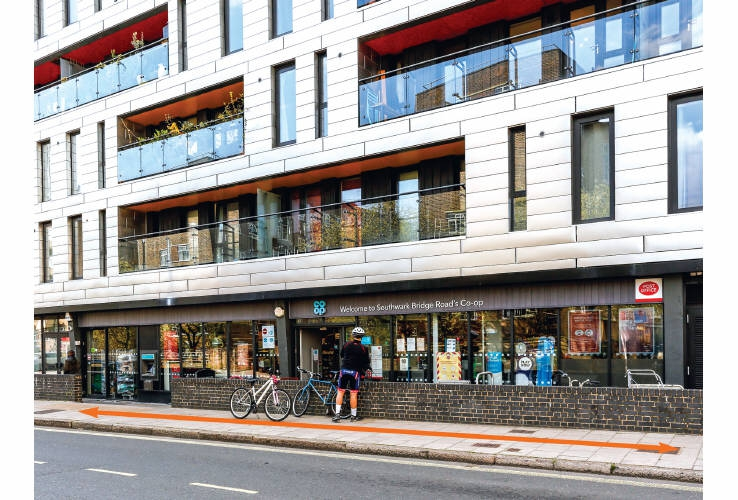 Coop Convenience Store, 136 Southwark Bridge Road, London, SE1 0DG