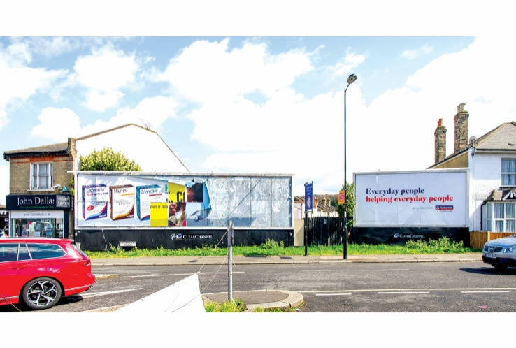 Advertising Hoarding at 5-13 Sanderstead Road<br>South Croydon<br>London<br>CR2 0PJ