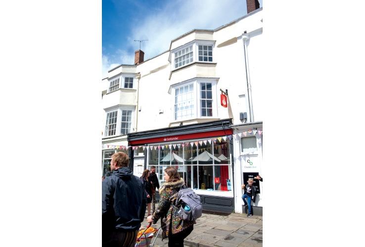 5 Market Place, Wells, Somerset, BA5 2RF