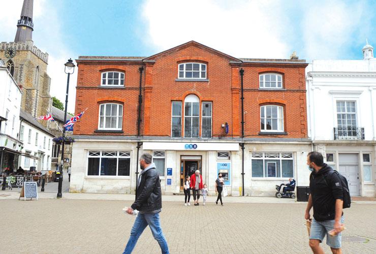 TSB, 7 Market Place, Stowmarket, Suffolk, IP14 1DY