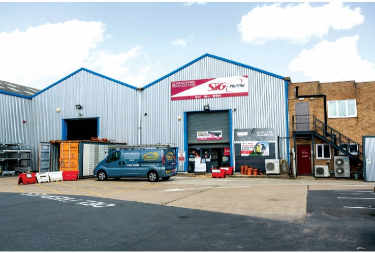 SIG Roofing<br>5 Harding Way<br>St Ives<br>Cambridgshire<br>PE27 3WR