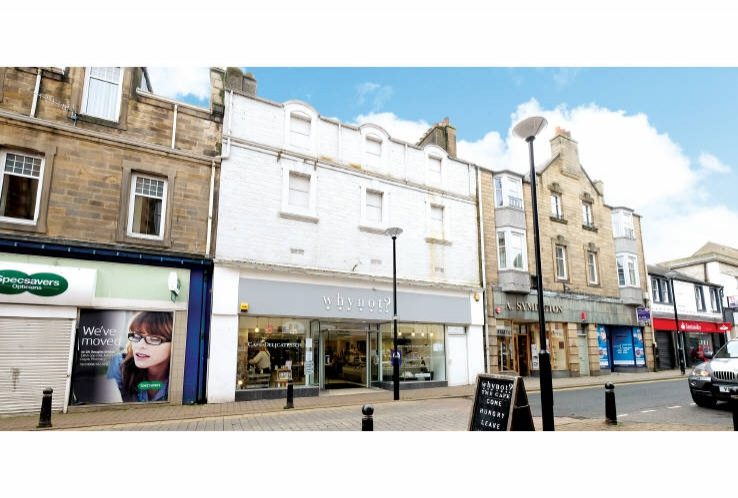 48 / 50 Channel Street<br>Galashiels<br>Borders<br>TD1 1BA