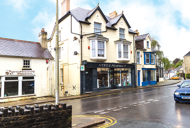 Myrtle Pharmacy<br>Goodwick Square<br>Goodwick<br>SA64 0BP