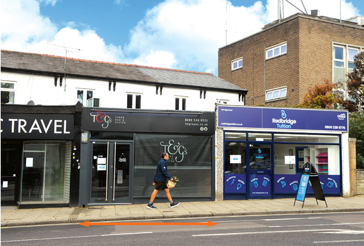 154 High Road<br>Loughton<br>Essex<br>IG10 4BE