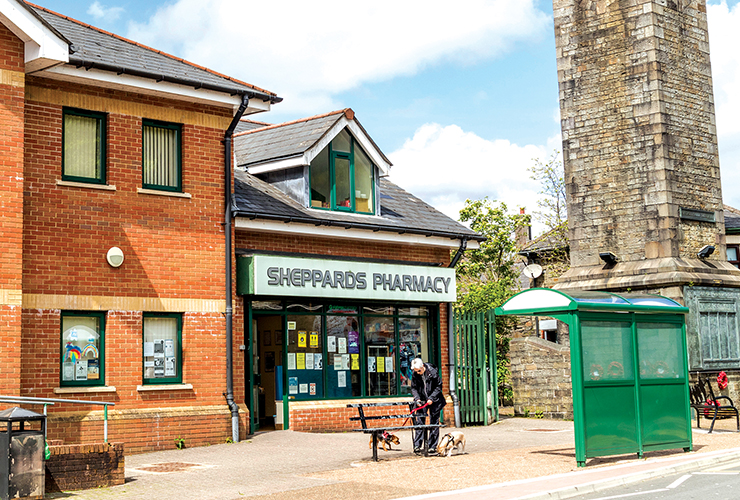 Sheppards Pharmacy<br>Penrhiwceiber Road<br>Penrhiwceiber<br>CF45 3SP