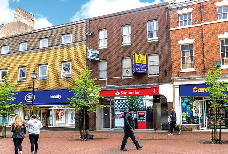 58 High Street<br>Newcastle Under Lyme<br>Staffordshire<br>ST5 1QE